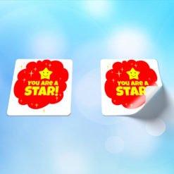 Premium Appreciation Kids Stickers