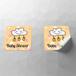 stickers for kids, High-Quality Custom Baby Care Stickers, Vinyl Matte Stickers