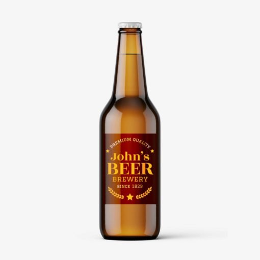 beer bottle labels, Beer Labels Printing, custom Brands Labels