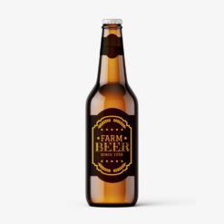 beer labels | Beer Labels Printing | Premium Beer Brands Labels With Texture Eggshell Felt 70lb Paper And Unwind Direction Top Of Copy | Print Magic