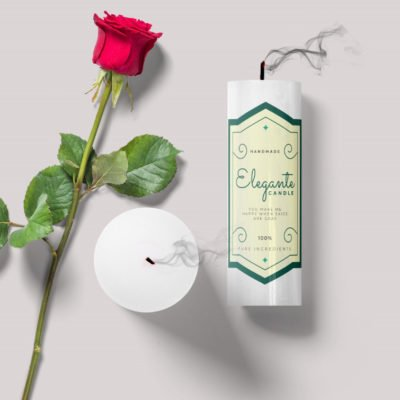 candle labels | Candle Labels Printing | Popular Candle Labels With White BOPP Paper And Unwind Direction Top Of Copy | Print Magic