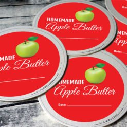 canning labels | Canning Labels Printing | Premium Canning Labels With White BOPP Paper And Unwind Direction Top Of Copy | Print Magic
