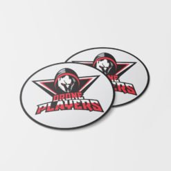 Oval labels, Custom Oval Labels Printing, Specialized Restaurant Stickers, Silk Lamination Stickers