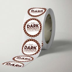 Roll labels | Roll Labels Printing | Specialized Roll Labels With White BOPP Paper And Unwind Direction Bottom Of Copy | Print Magic