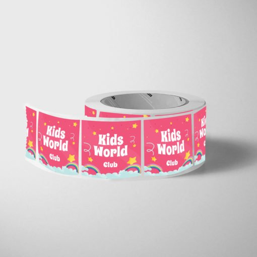labels for kids | Kids Labels Printing | Premium Kids Roll Labels With White BOPP And Unwind Direction Left Of Copy | Print Magic