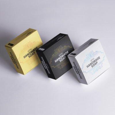 Soap labels | Soap Labels Printing | Popular Handmade Soap Labels With Bright Silver Metallic Paper | Print Magic