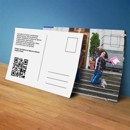 Standard Postcards | QR Standard Postcards with Thick, durable stock for lasting impression And Fast turnaround for any quantity | PrintMagic