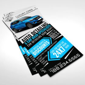Spot UV Rack Cards printing | High-Quality Spot UV Rack Cards with Standard Gloss and Spot UV Coating front | PrintMagic