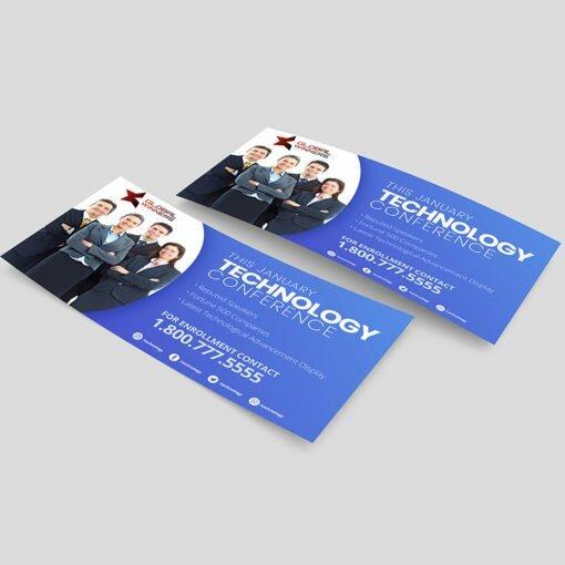 Standard Rack Cards printing