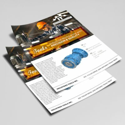 Custom Sales Sheet printing | High-Quality Custom Sales Sheet with Standard Gloss and UV Coating front | Printed front only | PrintMagic
