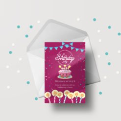 Print Silk Greeting Cards Flat