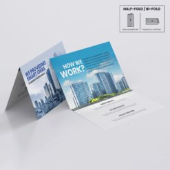 Print Silk Greeting Cards Folded