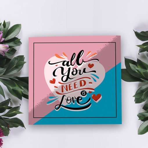 Silk Greeting Cards Flat printing | High-quality Square Silk Greeting Cards With Silk lamination, durable, water, and tear-resistan | Silk lamination | PrintMagic