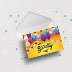 Standard Greeting Cards Flat printing | High-quality Greeting Cards With Standard uncoated and UV Coating | PrintMagic