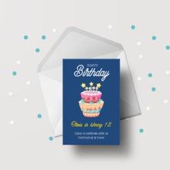 Standard Greeting Cards printing, Matte Coating Greeting Cards