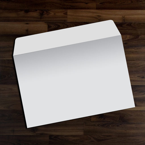 9″ x 12″ Envelopes | 9x12 Envelope Open on 12 Side Blank with White Premium Opaque-70lb (Opaque Uncoated Text-70lb) paper stock | PrintMagic