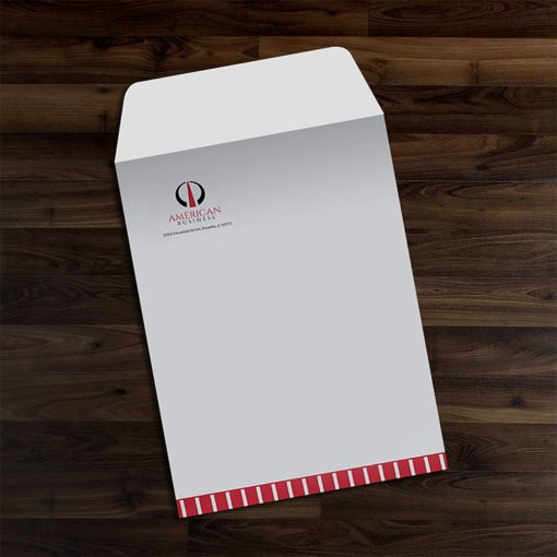 9″ x 12″ Envelopes | 9x12 Envelope Open on 9 Side Printing Front Only and Premium paper stock with a writable surface | Print Magic