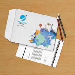 Print 9x12 Envelope