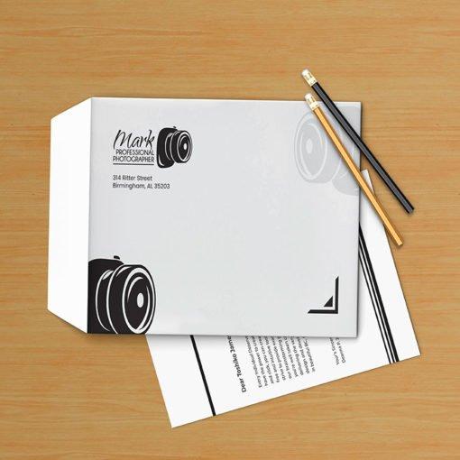 A6 Envelope Printing, Photography Envelope