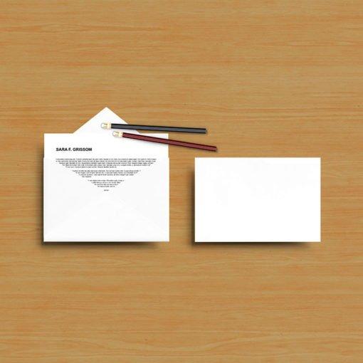 A9 Envelope_Blank Online
