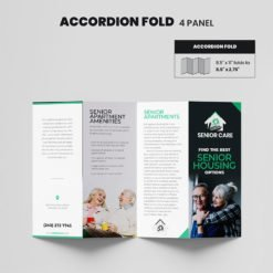 Print Products | Fold Option: Accordion-Fold for Brochures