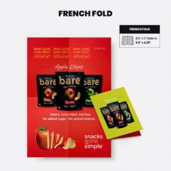 Print Products | Fold Option: French-Fold for Brochures