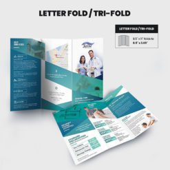 Print Products | Fold Option: Letter-Fold/Tri-Fold for Brochures