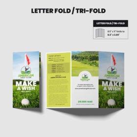 Brochure Tri Fold Printing, Letter Fold Print
