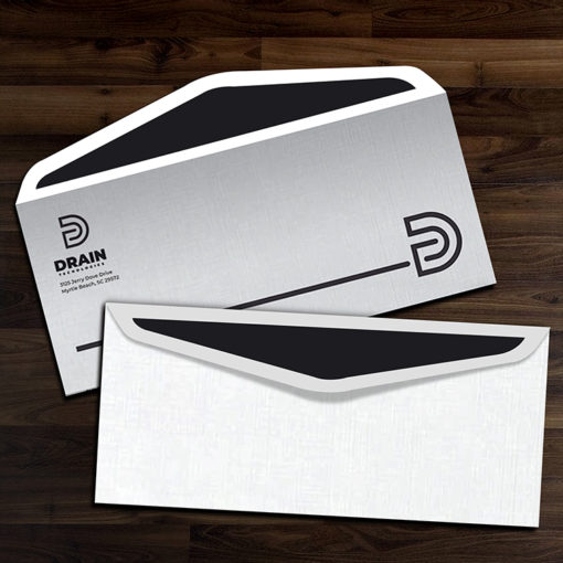 #9 Envelopes ( 8.875″ x 3.875″ ) | No9 Envelope Printing Front Back with Back Flap with White Premium Opaque-70lb (Opaque Uncoated Text-70lb) paper stock | PrintMagic