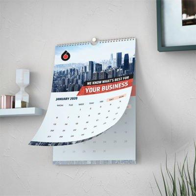 Wall Calendars Printing | Premium Wall Calendars With Aqueous Coating And Standard Gloss Text-100lb | PrintMagic