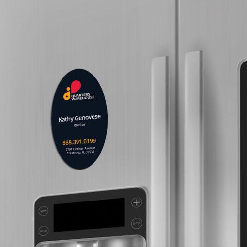 custom fridge magnets, best refrigerator magnets, refrigerator magnet custom, Business Card Magnets