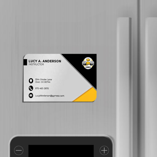 Business Card Magnets | Business Card Magnets Horizontal Two Opposite Rounded Corner Education | PrintMagic