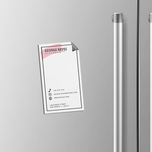 Business Card Magnets | Business Cards Magnet Vertical Advertisement | PrintMagic