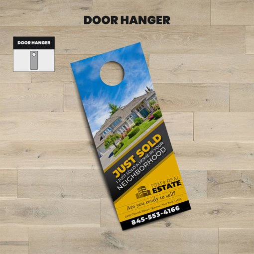 Order Door Hangers, Real Estate Door Hangers Printing
