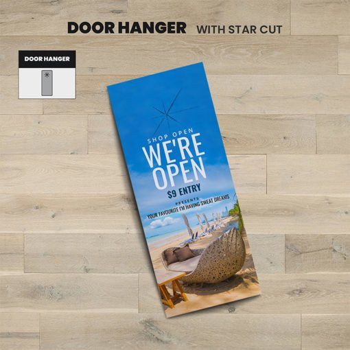 Printable Door Hangers, Travel Door Hangers Printing