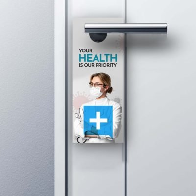 Wellness and Safety - Door Hanger for Covid-19