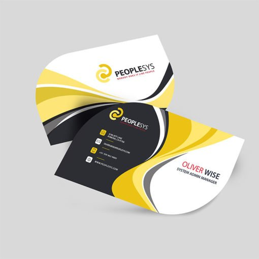 Leaf Business Cards | Leaf Business Cards printing | System Admin Manager | Premium Gloss and UV Coating both sides and print side Front only | Print Magic