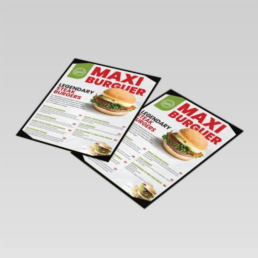 Take Out Menus printing, Restaurant Menus Printing