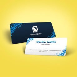 Slim Rounded Corner Business Cards | Rounded Corner Business Cards | Slim Rounded Corner Business Cards printing | Sales Manager | Standard Gloss and Rounded Corner 1/8