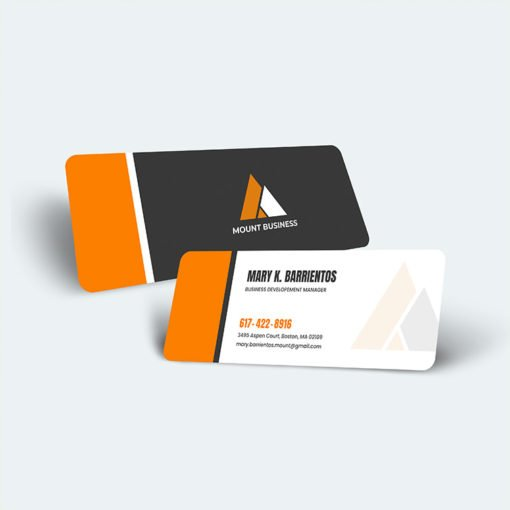 Custom Slim Rounded Corner Business Cards printing, Premium Gloss Business Cards