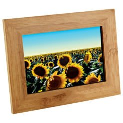 Print Bamboo Photo Frame