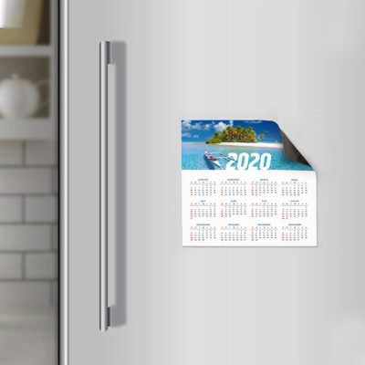 Magnetic Calendars | Magnetic Calendars With 17pt. Magnetic Stock And UV Coating Front And printed on Color Front Only | Print Magic