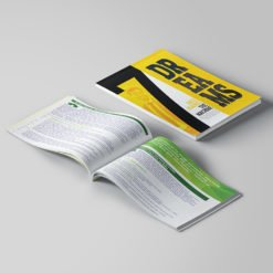 Bulk Booklets | Inspiration Educational Horizontal Perfect Binding Booklets with Standard Gloss Paper Stock and Aqueous Coating | Print Magic