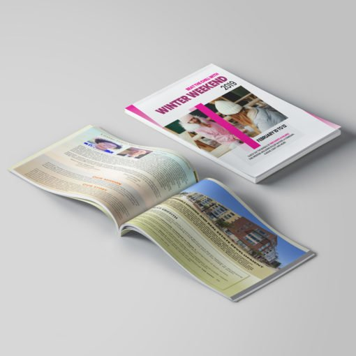 Bulk Booklets   Training and Education Horizontal Saddle-Stitched Binding Booklets with Standard Gloss Paper Stock and Aqueous Coating   Print Magic