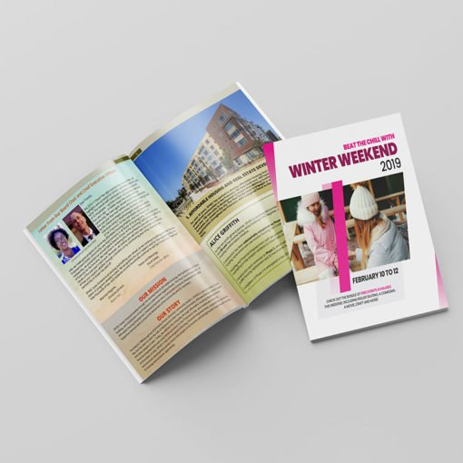 Perfect Bound Booklets   Perfect Binding Horizontal Health Booklets with Standard Gloss and Long Edge Side Binding   Print Magic