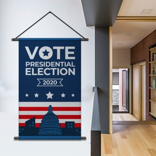 Fabric Banners | Vote Presidential election 2020| Print Magic
