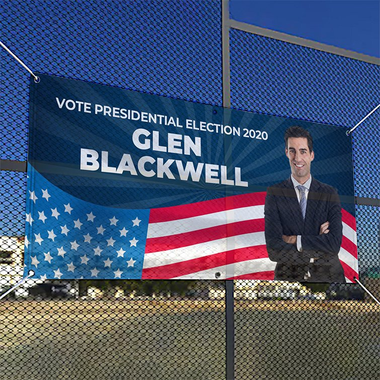 Mesh Banners | Mesh Banners Political Campaign 2020 | Election Printing For Every Campaign - Political Banner | Print Magic