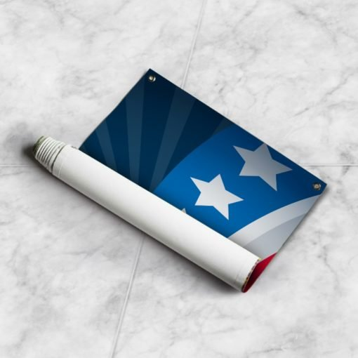Rolied Canvas | Vote Presidential election 2020 | Print Magic