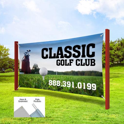 Vinyl Outdoor Printing Golf