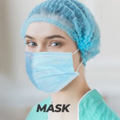 COVID Protection Safety Surgical Mask with good air permeability | Well and Safety | PrintMagic